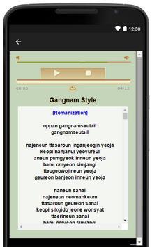 Psy Music Song Lyrics screenshot 4