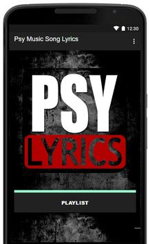Psy Music Song Lyrics poster