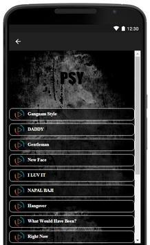 Psy Music Song Lyrics screenshot 1