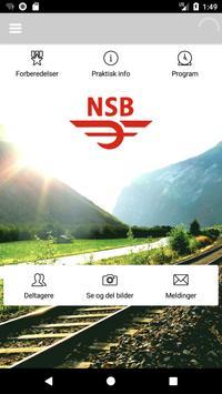 Interne eventer NSB poster