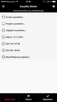EasyMet Mobile apk screenshot