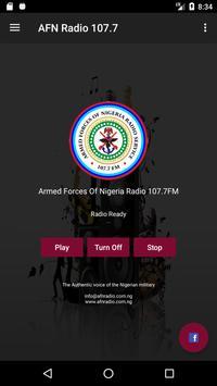 Armed Forces Of Nigeria Radio 107.7FM screenshot 1
