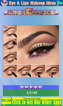 Eye & Lips Makeup Ideas screenshot 13