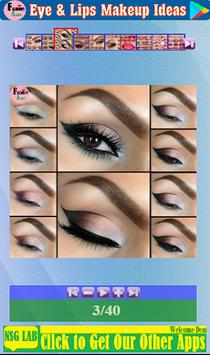 Eye & Lips Makeup Ideas screenshot 2