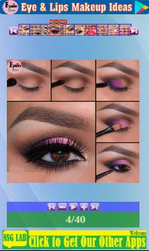 Eye & Lips Makeup Ideas screenshot 3