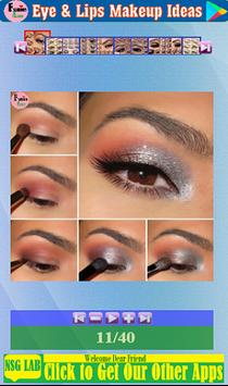 Eye & Lips Makeup Ideas screenshot 5