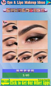 Eye & Lips Makeup Ideas screenshot 8