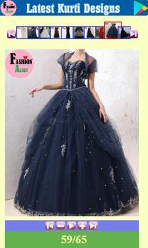Latest Long Dress Designs screenshot 9