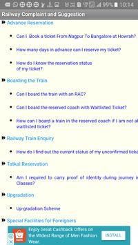 Indian Railway Complaint & Suggestion screenshot 7