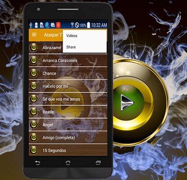 Ataque 77 Musica Arranca Corazones apk screenshot