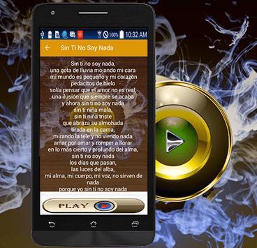 Amaral Song Sin Ti No Soy Nada screenshot 3