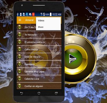 Amaral Song Sin Ti No Soy Nada screenshot 2