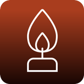 불타는 촛불 icon