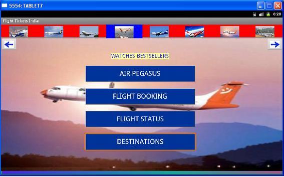 Flight Tickets India apk screenshot