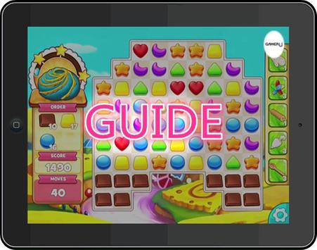 Tutorial Cookie Jam screenshot 2