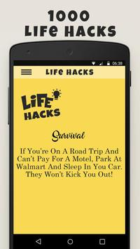 Life Hacks Tips apk screenshot