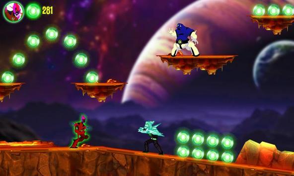 Galaxy Hero Ben Alien screenshot 2