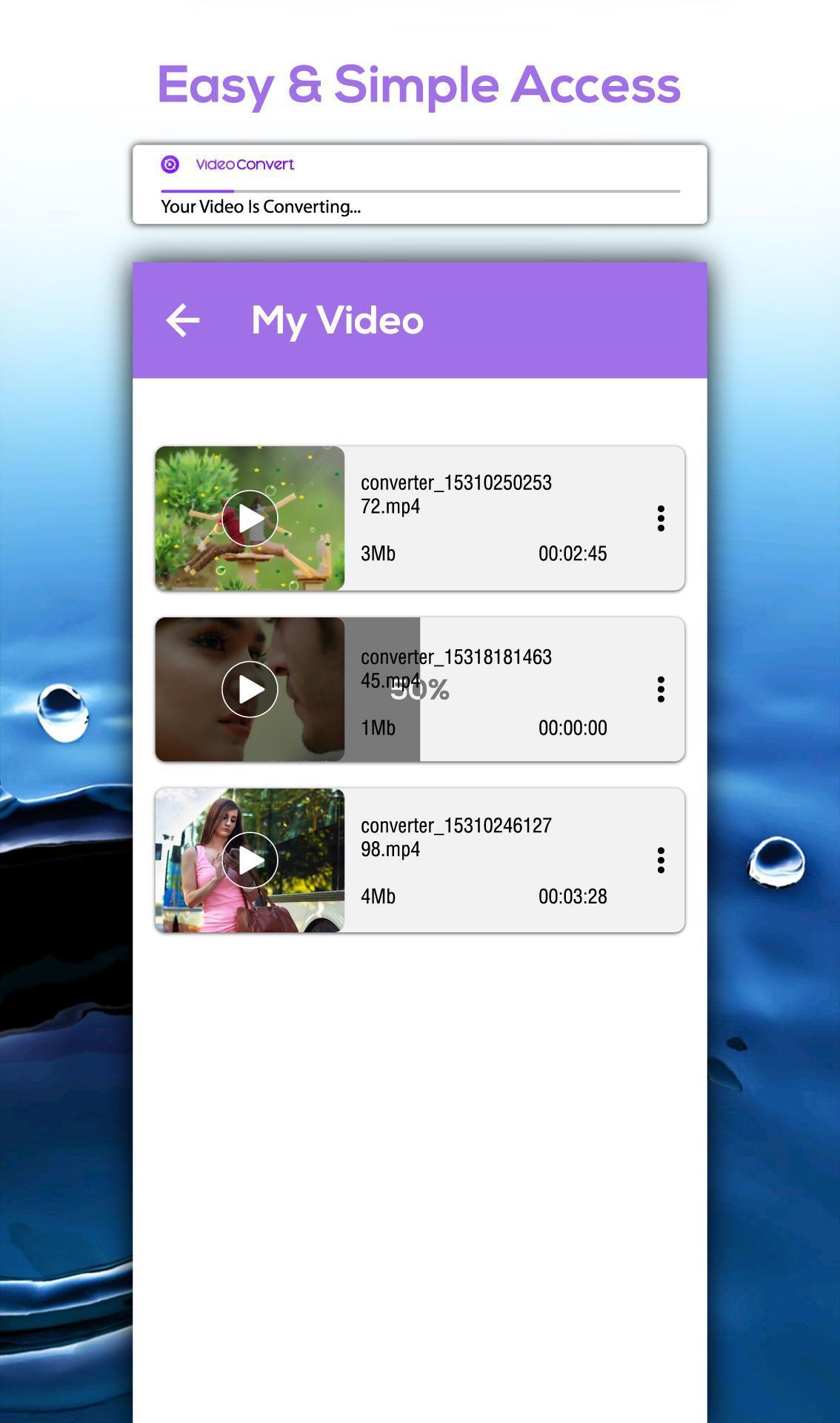 All Video Converter – AVI, AVI, MKV, FLV, M4V for Android