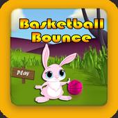 basketball bounce icon