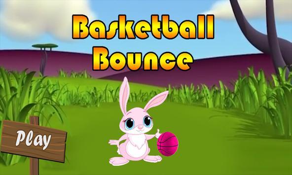 basketball bounce poster