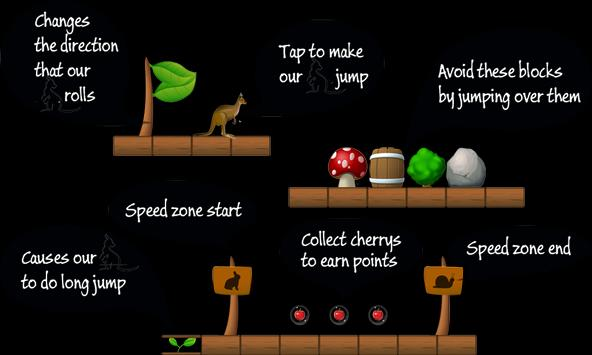 kangaroo adventure apk screenshot