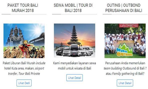 bali tours and travel screenshot 3