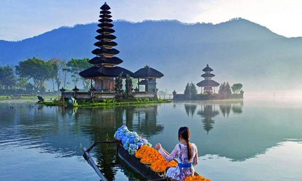 bali tours and travel poster