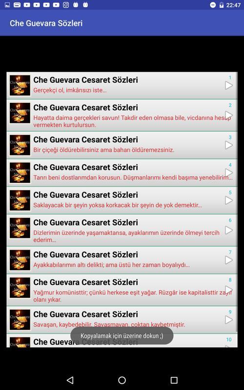 Che Guevara Sözleri For Android Apk Download