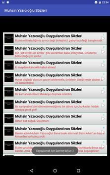 Muhsin Yazıcıoğlu Sözleri apk screenshot