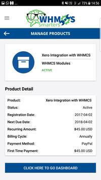 WHMCS CLIENT APP screenshot 3