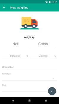 Cropio Weighings apk screenshot