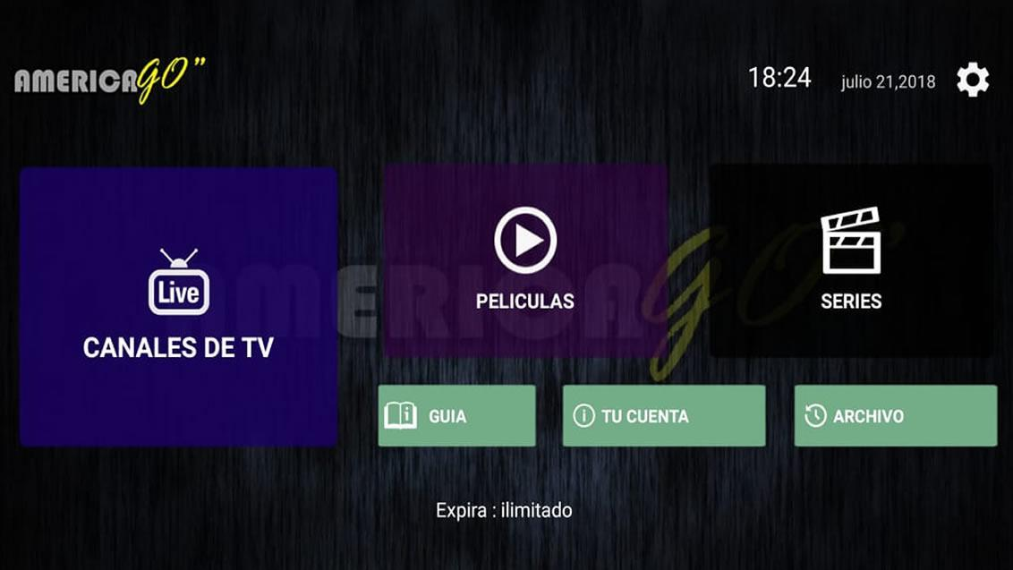 America Go IPTV for Android - APK Download