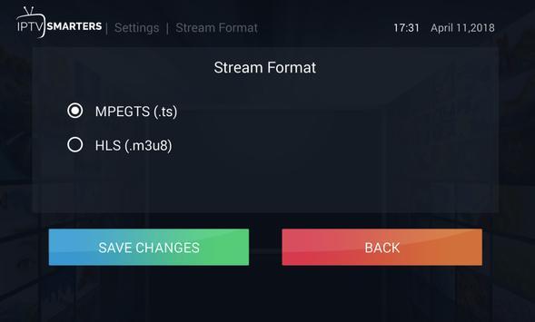 4 Schermata IPTV Smarters Pro
