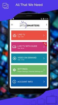 1 Schermata IPTV Smarters