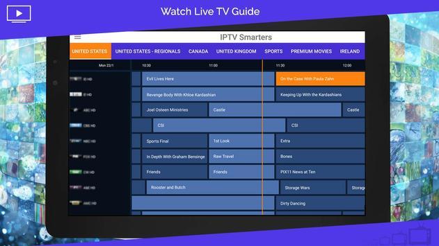 8 Schermata IPTV Smarters