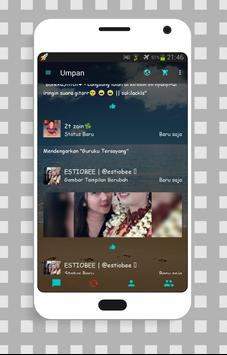 Tema bbm transparan pro apk screenshot