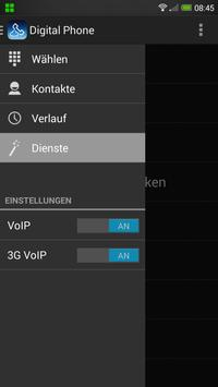 Digital Phone von o2 apk screenshot