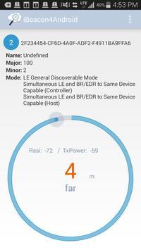 iBeacon4Android apk screenshot