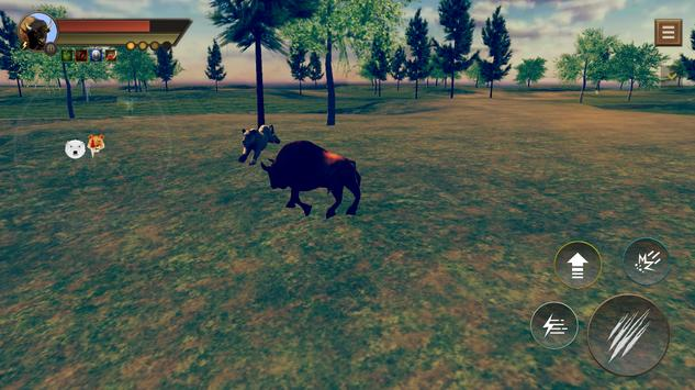 Angry Buffalo  Bison Survival Adventure screenshot 1