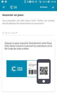Côte D'Azur Card apk screenshot