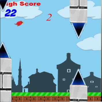 Red Floppy Bird apk screenshot