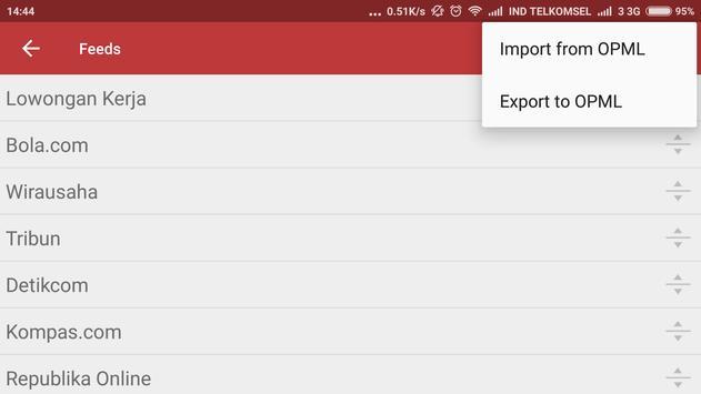 Berita Indonesia (News Filter) screenshot 3