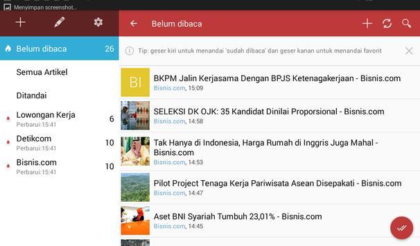 Berita Indonesia (News Filter) screenshot 12