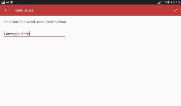 Berita Indonesia (News Filter) screenshot 8
