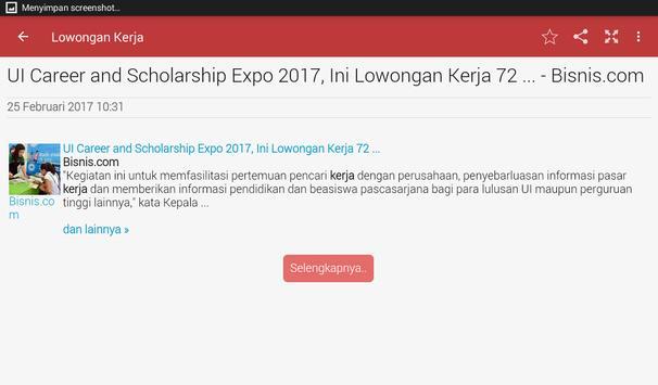 Berita Indonesia (News Filter) screenshot 9