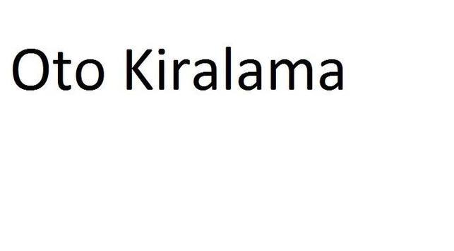 Oto Kiralama poster