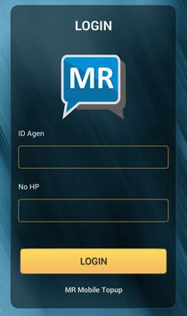 MR Mobile Topup poster