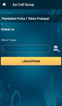 Server Pulsa Token PLN  Azi Cell Group screenshot 3