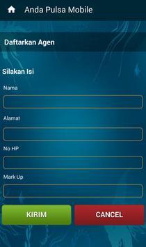 Anda Pulsa Mobile apk screenshot