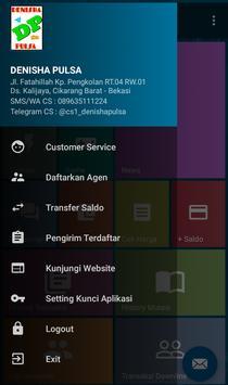 Denisha Pulsa - Agen Pulsa, Paket Data & PPOB apk screenshot